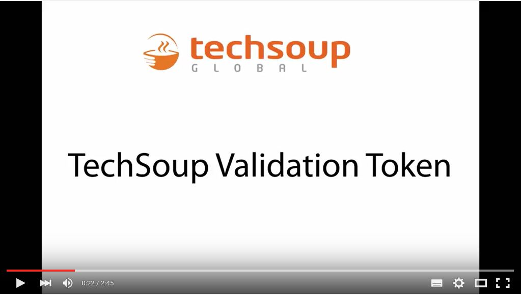 How to use your validation Token